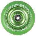 RGR110GREEN, Rueda de 110mm RADICAL fluorescent goma verde y nucleo verde Metal Core
