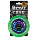 RGR100RW, Rueda de 100mm RADICAL fluorescent goma verde y nucleo rainbow Metal Core