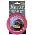 DISC100PINK, Rueda DISC de 100mm goma rosa y nucleo disco rainbow Metal Core