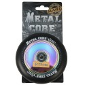 DISC110BL, Rueda DISC de 110mm goma negra y nucleo disco rainbow Metal Core