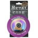DISC110VI, Rueda DISC de 110mm goma violeta y nucleo disco rainbow Metal Core