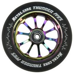 Rueda Metal Core 120THUNDER goma negra y nucleo rainbow Metal core