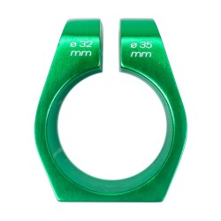 Squared146 Clamp Verde, 32-35 mm, 2 tornillos