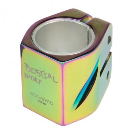 Squaredrainbow Clamp Rainbow, 32-35 mm, 2 tornillos