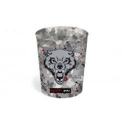 Papelera Metálica Bestial Wolf 2018