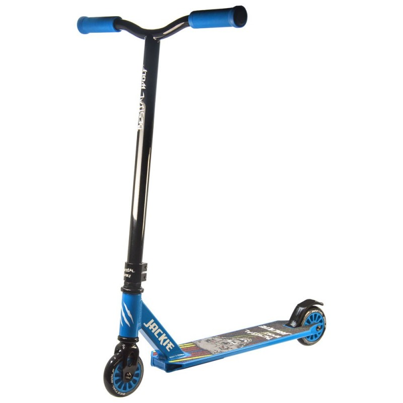 JACKIE-BLUE Bestial Wolf Pro Scooter freestyle