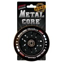 Rueda Metal Core RADIUS110BL, goma y núcleo negro