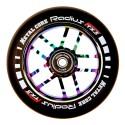 Rueda Metal Core RADIUS110RW, goma negra y núcleo rainbow