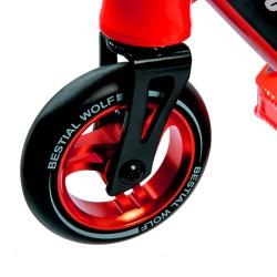 BOOSTER B16 Scooter Pro Manillar negro y Tabla roja, de Bestial Wolf