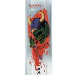KILLER K8, Scooter Pro Manillar y Tabla plateados, de Bestial Wolf