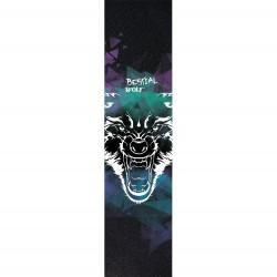 Lija personalizada Bestial Wolf para scooter con diseño Lobo