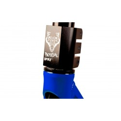 BOOSTER B16 Scooter Pro Manillar negro y Tabla azul, de Bestial Wolf