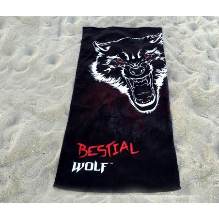 TOALLA DE PLAYA BESTIAL WOLF