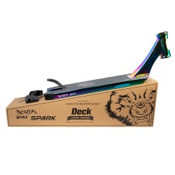 SPARK46-RAINBOW , Tabla Bestial Wolf JAGER color GASOLINA, 46 cm x 12,5 cm