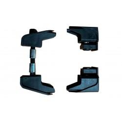 ref. UK90RE UK90-RE Terminales Nylon para Park  o Street y eje de acero para Tablas Spark - Rocky R12 - KillerK-8