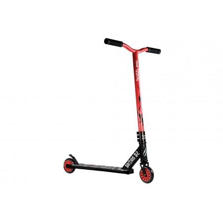 Scooter Pro DEMON D2 manillar rojo y tabla negra Bestial Wolf