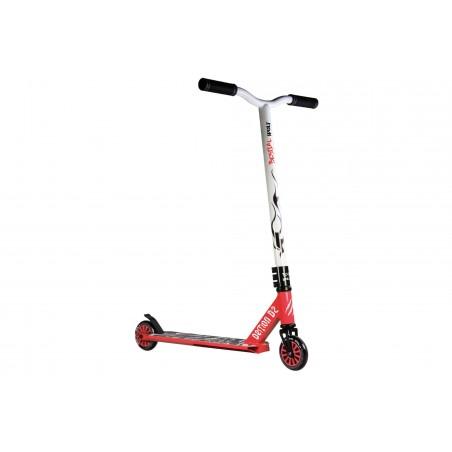 Scooter Pro DEMON D2 manillar blanco y tabla roja