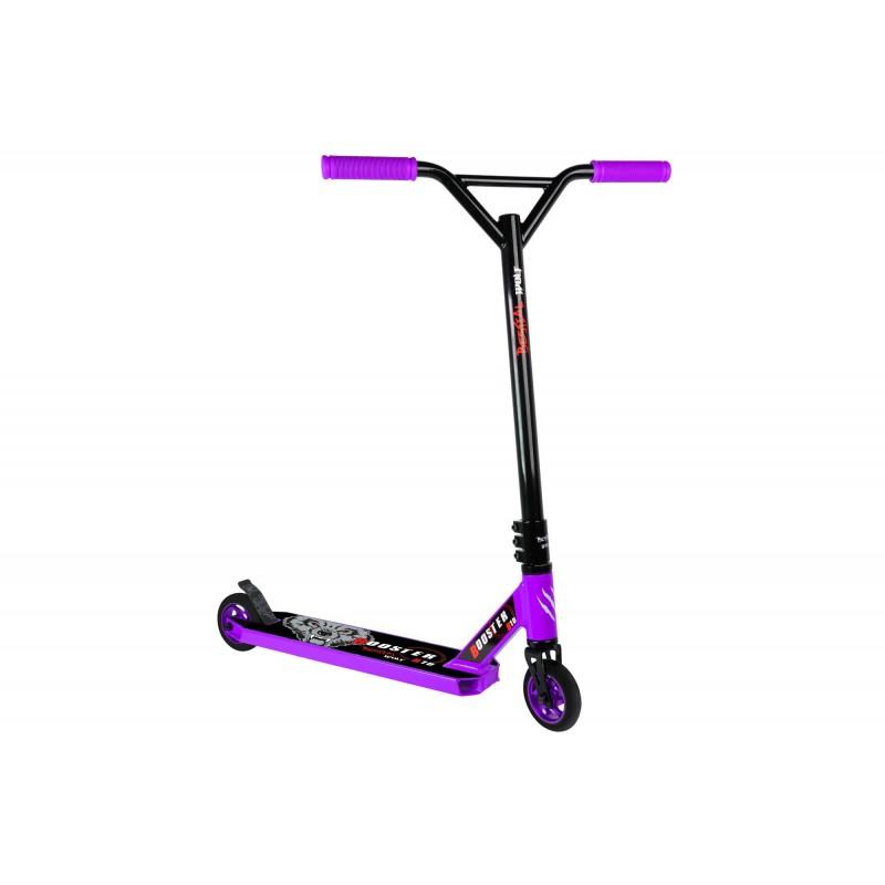Bestial Wolf Pro Scooter BOOSTER B10. Manillar negro y tabla violeta
