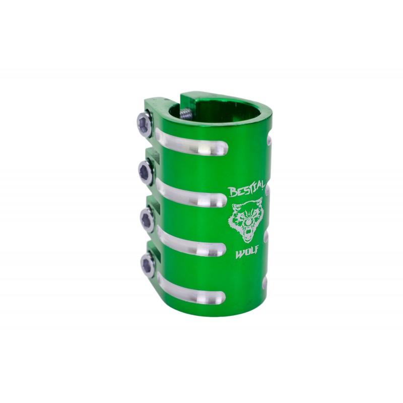 Clamp de 4 tornillos Bestial Wolf verde