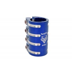 Clamp de 4 tornillos Bestial Wolf azul