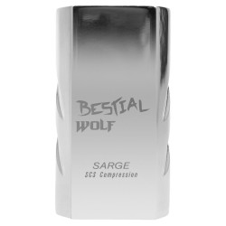 Compresión de 4 tornillos Bestial Wolf SARGE plateado