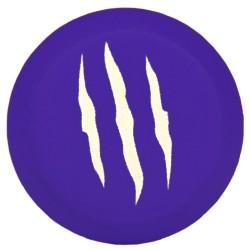 Tapones para manguitos Bestial Wolf violeta