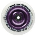 Rueda Metal Core RADICAL goma blanca núcleo violeta