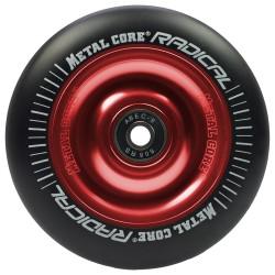 Rueda Metal Core RADICAL goma negra núcleo rojo