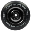 Rueda Metal Core RADICAL goma negra núcleo negro
