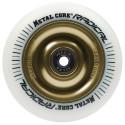 Rueda Metal Core RADICAL 110 goma blanca núcleo dorado