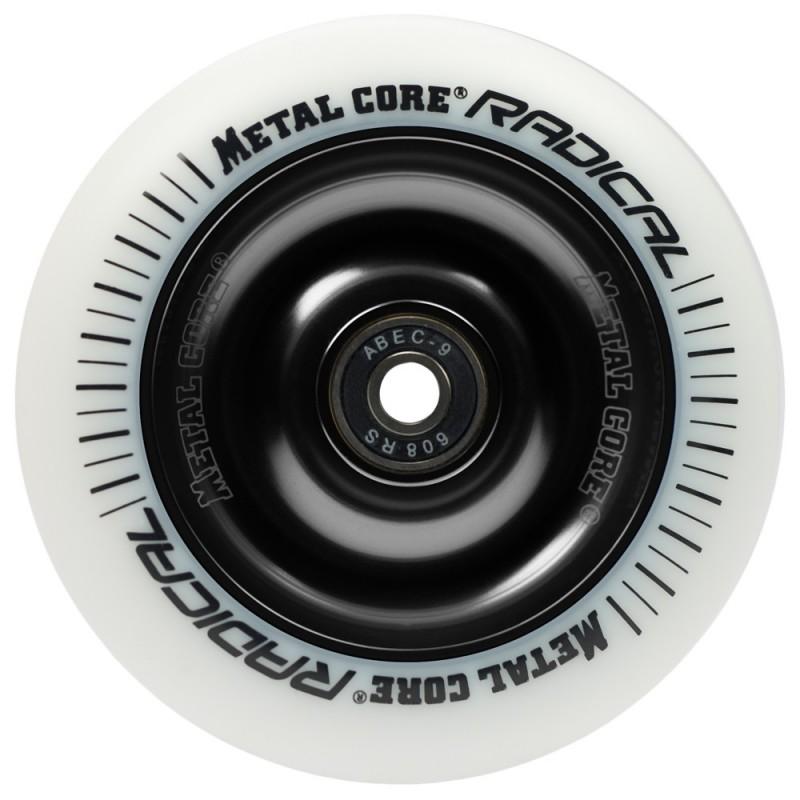 Rueda Metal Core RADICAL 110 goma blanca núcleo negro