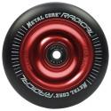 Rueda Metal Core RADICAL 110 goma negra núcleo rojo