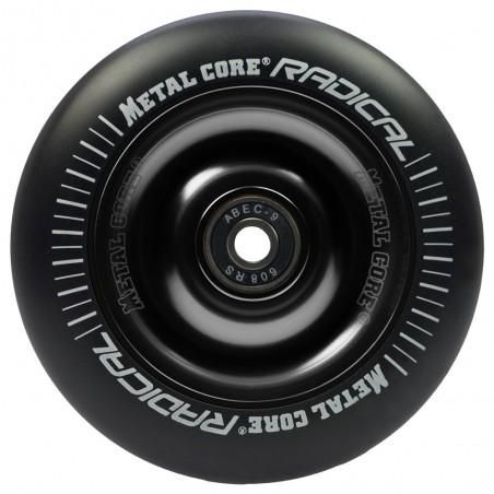 Rueda Metal Core RADICAL 110 goma negra núcleo negro