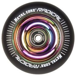 Rueda Metal Core RADICAL 110 goma negra núcleo rainbow