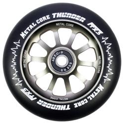 Rueda Metal Core 110THUNDER goma negra núcleo color titanio