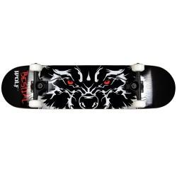 Skateboard completo RABIES 7,75x31 modelo ojos lobo