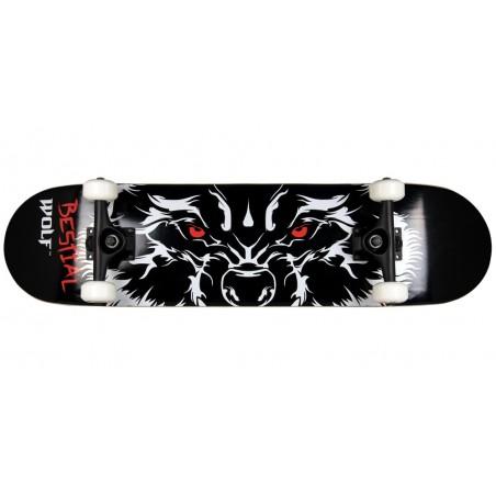 Skateboard completo RABIES 7,75 x 31 modelo ojos lobo