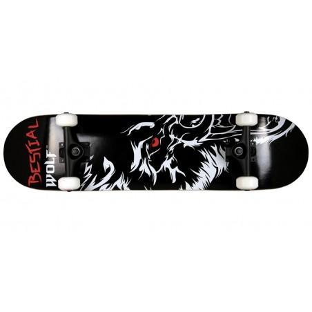 Skateboard completo WILD 7,75 x 31 modelo mitad lobo