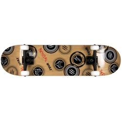 Skateboard completo MADNESS 8 x 31 lobo sello,7 full canadiense maple