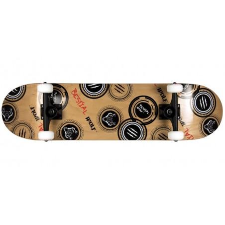Skateboard completo MADNESS 8 x 31 lobo sello, 7 full canadiense maple