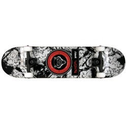 Skateboard completo URBAN WOLF 8 x 31,7 full canadiense maple