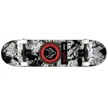 Skateboard completo URBAN WOLF 8 x 31, 7 full canadiense maple