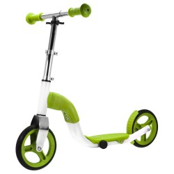 SCOOBIK Scooter y bici, 2 en uno, color verde
