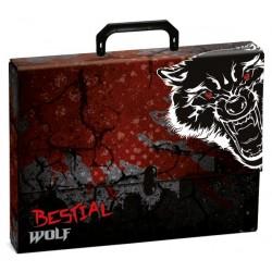 Maletin de carton Bestial Wolf