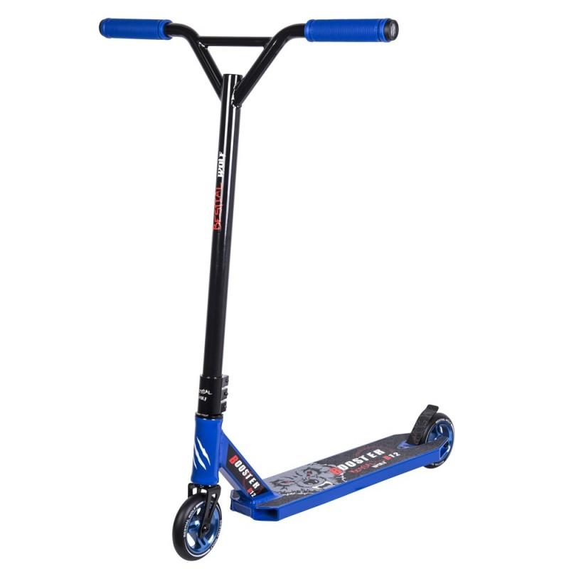 Nuevo Scooter Pro Bestial Wolf BOOSTER B12 manillar negro tabla azul