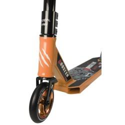 Nuevo Scooter Pro Bestial Wolf BOOSTER B12 manillar negro tabla naranja