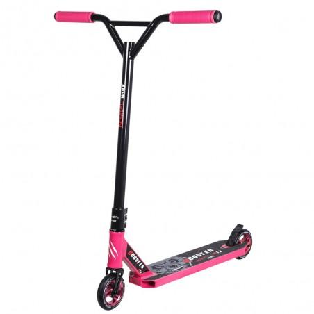 Nuevo Scooter Pro Bestial Wolf BOOSTER B12 manillar negro tabla rosa