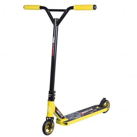 Nuevo BOOSTER B12 Pro Scooter Manillar negro y tabla amarillo Bestial Wolf