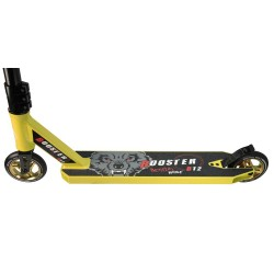 Nuevo Scooter Pro Bestial Wolf BOOSTER B12 manillar negro tabla amarillo